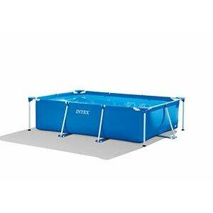 Intex 28272 Metal Frame Rectangular Pool - Blue