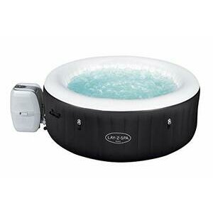 Lay-Z-Spa Miami Hot Tub, 120 AirJet Massage System Inflatable Spa - For 2-4