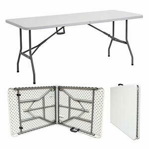 Denny Shop 4ft, 5ft & 6ft Camping Heavy Duty Folding Trestle Table