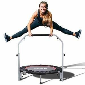 "BCAN 40"" Foldable Mini Trampoline/Fitness Rebounder"