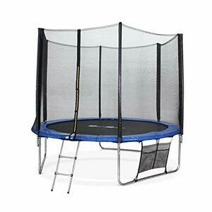 Alice's Garden - 10ft Trampoline with Safety Net & Accessories