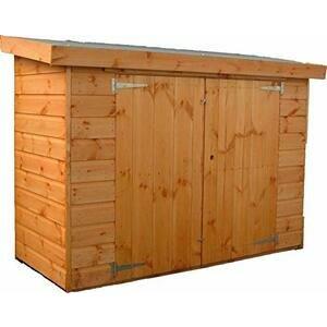 Pinelap 6ft x 3ft Wooden Shiplap Garden Shed