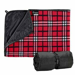 Pratico Outdoors Extra Large Picnic Blanket (Red)