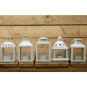 Decorative Tealight Lantern (set of 5)