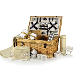 Ultimate Luxury Picnic Hamper 6 Person