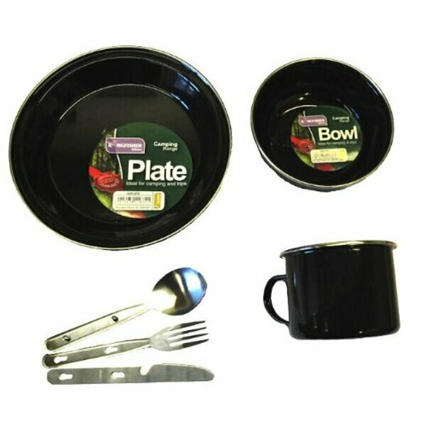 Solo Camping Dining Set