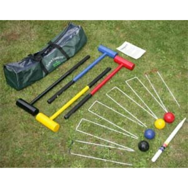 Junior Lawn Croquet Set