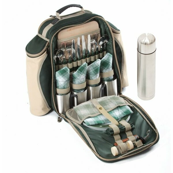 Super Luxury 4 Person Picnic Backpack