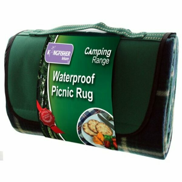 Kingfisher Waterproof Picnic Rug