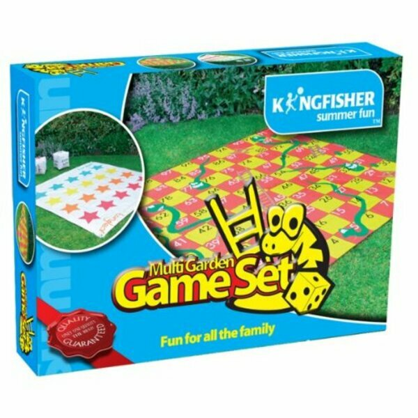 Giant Outdoor Multi Game Set
