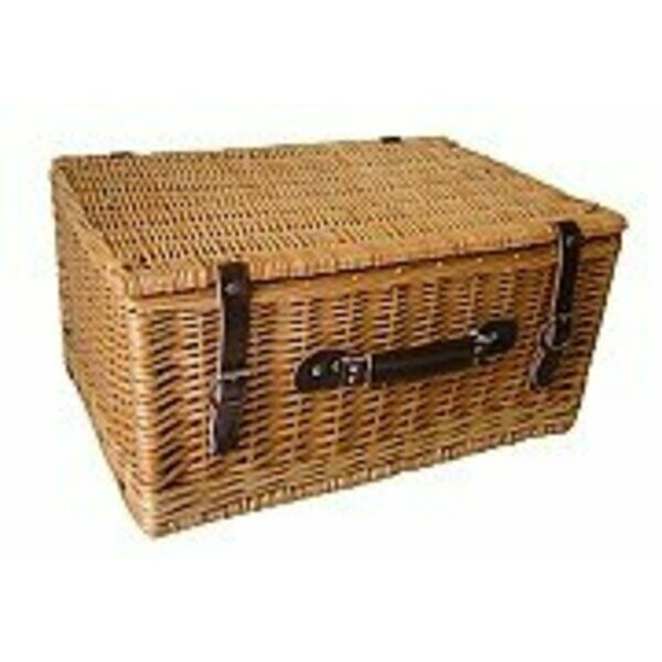 "The Uppercrust 20"" Willow Picnic Basket"