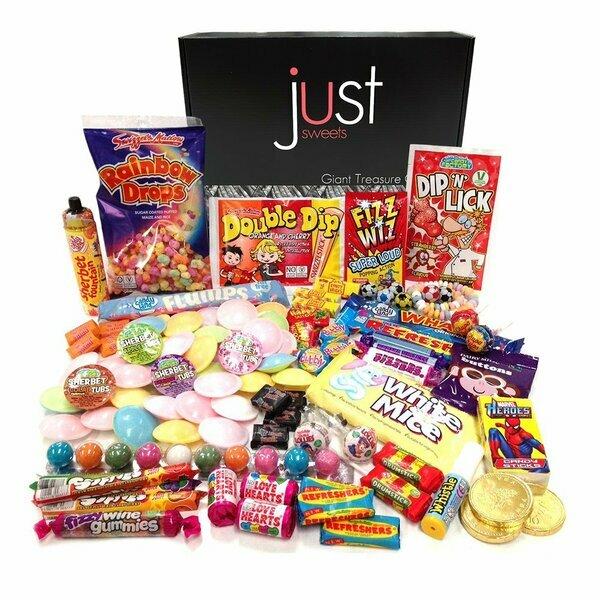 Giant Retro Sweets Treasure Box