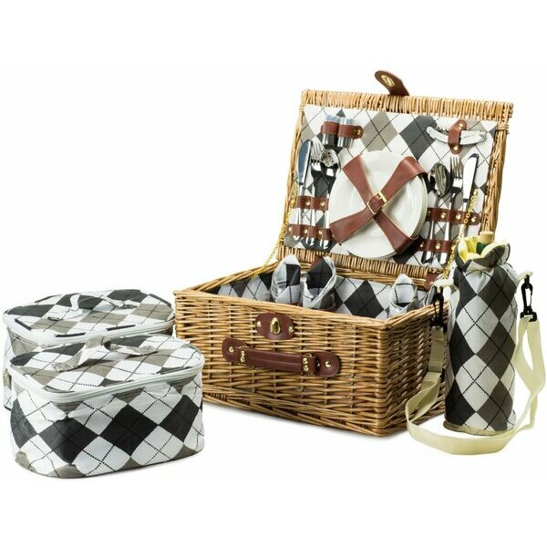 Andrew James Picnic Basket for Four